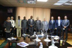 د/ محمد شاكر وزير الكهرباء والطاقة المتجددة يلتقي مع وزير الطاقة والمناجم البوروندى